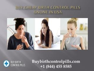 Buy Cheap Birth control Pills Online in USA