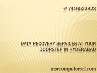 Cheap data recovery services at yourdoorstep in hyderabad