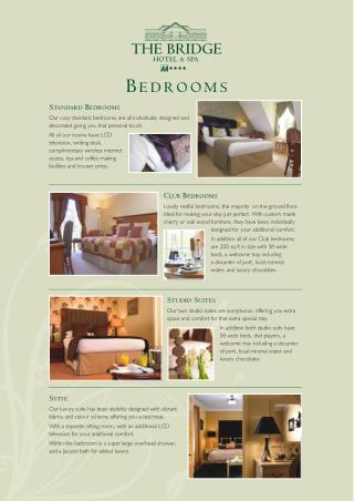 The Bridge Hotel and Spa - Bedrooms