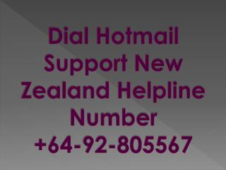 Lost Your Hotmail Account Password Then Please Dial Hotmail Support Number  64-92-805567