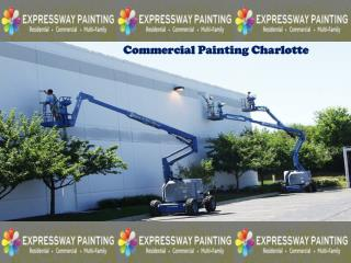 Commercial painting charlotte
