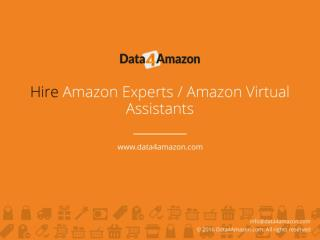 Hire Amazon Experts Amazon Virtual Assistants