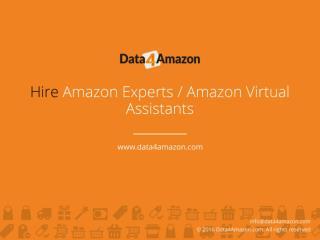 Hire Amazon Experts Amazon Virtual Assistants