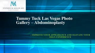 Tummy Tuck in Las Vegas