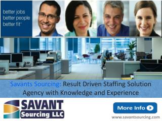 Premier Staffing Agency -