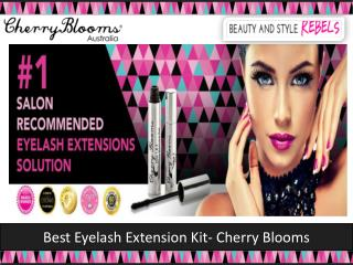 Best Eyelash Extension Kit - Cherry Blooms