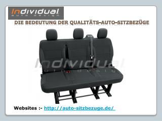 Die Bedeutung der Qualitäts-Auto-Sitzbezüge