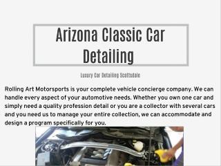 Arizona Classic Car Detailing