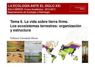 ecologia y sus elementos