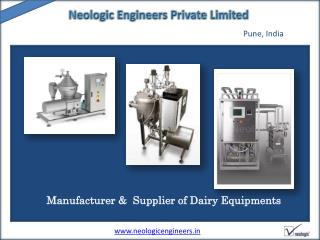 Dairy automation,Dairy Equipment Manufacturer pune  India | Neologic