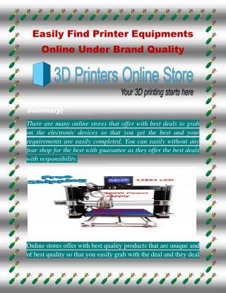 Buy 3d printer