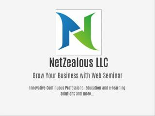 NetZealous LLC Web Seminars