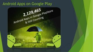 2,129,465 and Still Counting, Android Apps on Google Play Store