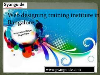 Web Designing Training Institute in BTM Layout Bangalore