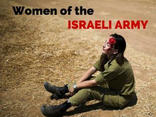 Women of the Israeli army