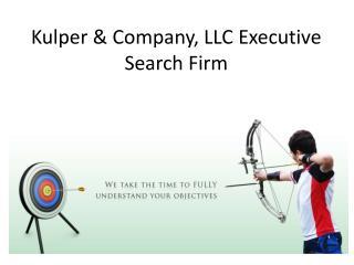 Kulper & Company, LLC Executive Search Firm