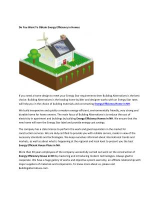 Energy Star Home Builders NH