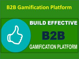 B2B Gamification Platform