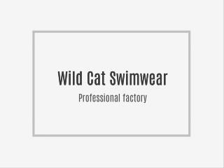 Which is a Professional manufacturer of women bikini swimsuit