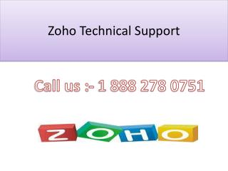 Zoho Customer Support 1 888 278 0751 Phone Number