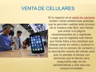 Venta de celulares
