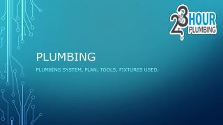 Plumbing Services, 24/7 Emergency Plumbing Company