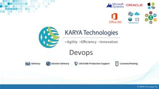 DevOps Solutions At Affordable Rates, DevOps Service Providers - KARYA Technologies