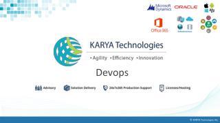 DevOps Solutions At Affordable Rates, DevOps Service Providers - KARYA Technologies