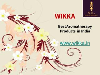Aromatherapy Products and Essential Oils Suppliers in India