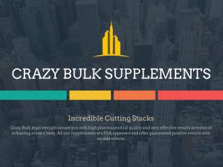 Enhance Your Muscles And Stamina With Crazy Bulk Supplements