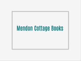 Mendon Cottage Books