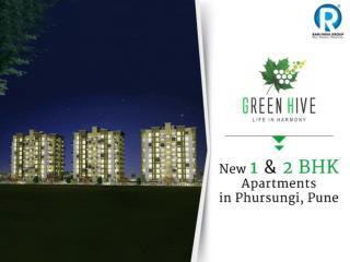 1 / 2 BHK Apartments in Phursungi, Pune