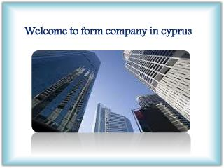 Welcome to form company in cyprus