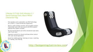 The X Rocker Wireless gaming chair