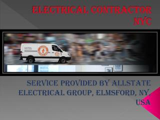 Best Electrical Contractors company in New york, USA