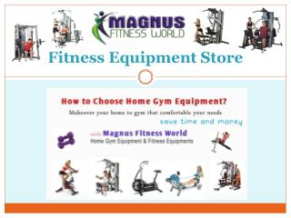 Motorised Treadmill Shop | Fitness Equipment Dealers Store India
