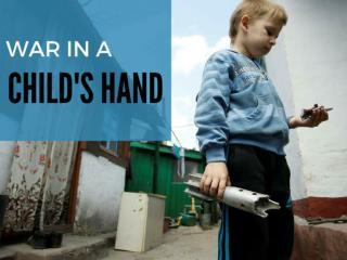 War in a child's hands