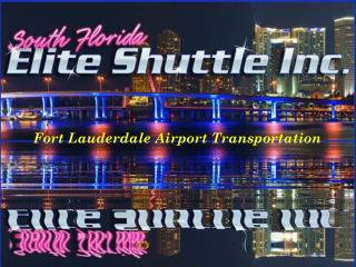 Fort Lauderdale Airport Transportation