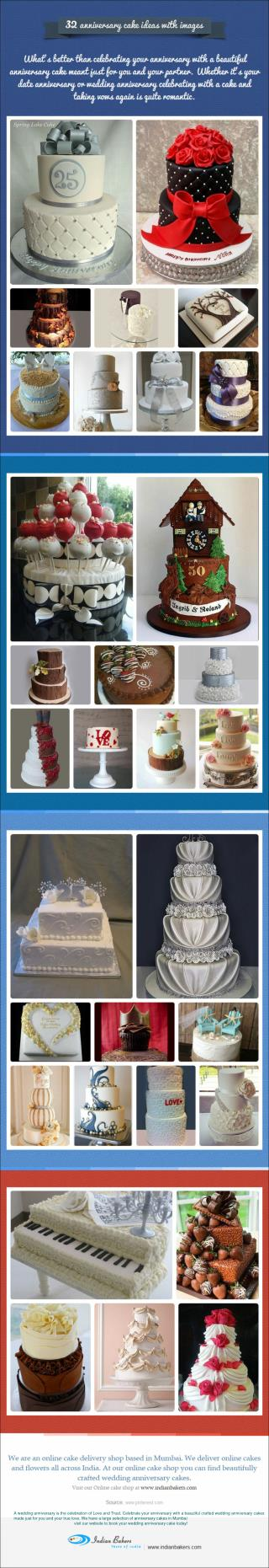 32 Anniversary Cake Ideas with Images