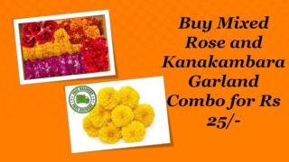 Pooja Flowers Combo for Rs 25 @ Dailypooja