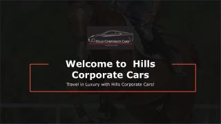 Chauffeur Driven - Hills Corporate Cars
