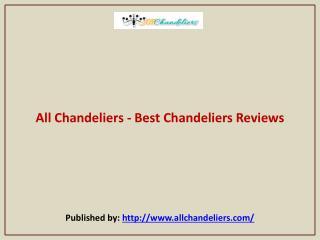Best Chandeliers Reviews