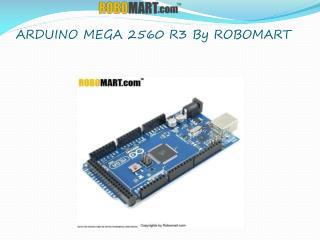 Arduino Mega 2560 Projects Robomart