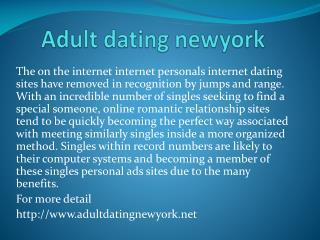 Adult dating newyork