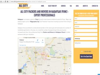 Packers & Movers in Hadapsar(Pune)- All City Packers &Movers®