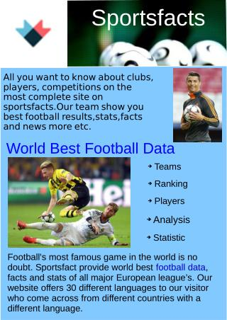World Best football Data