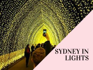 Sydney in lights