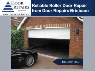 Reliable Roller Door Repair from Door Repairs Brisbane