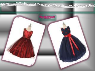 Buy Attractive Flower Girl Dresses For Your Little Girl