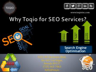 TOQIO | Search Engine Optimization Services Las Vegas